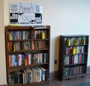 G and T bookcases