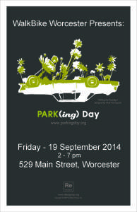 2014 - PARK(ing) DAY Flyer